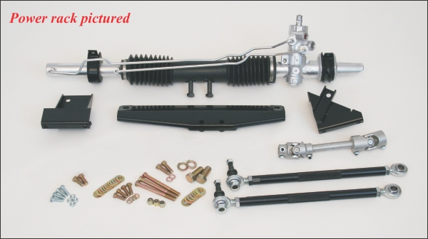 1964-1970 Mustang Steeroids Rack & Pinion Conversion Kit, Reuse Stock Column, Manual Steering