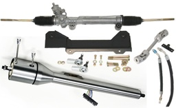 1967-1969 Camaro Steeroids Rack & Pinion Conversion Kit with Column, Power Steering